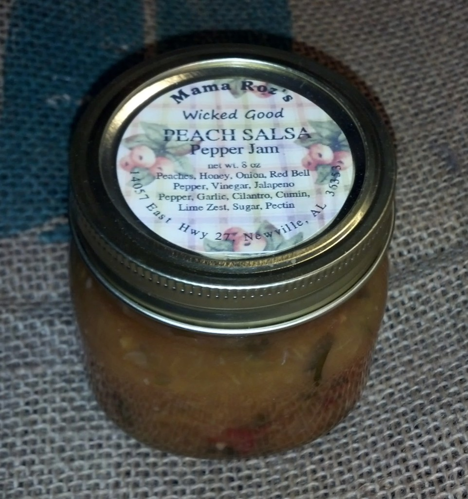 Wicked Good Honey Peach Salsa
