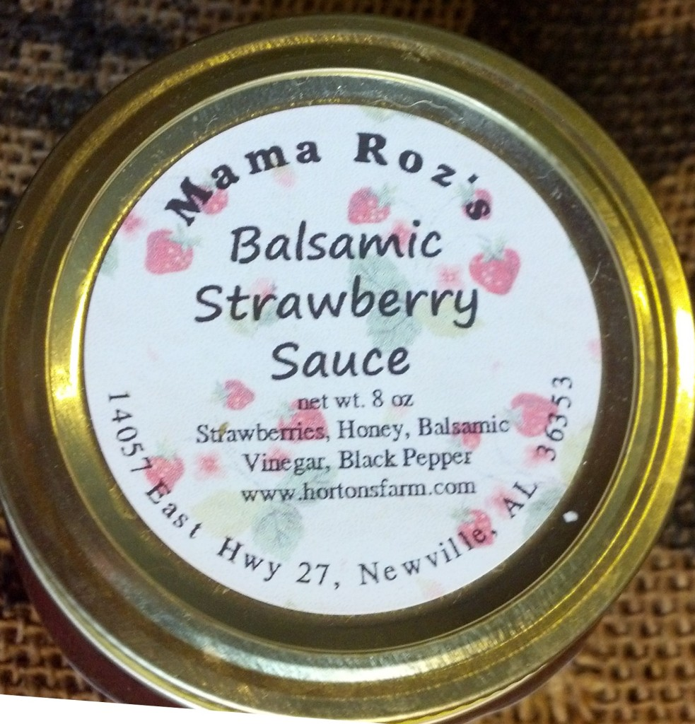 Strawberry Balsamic Sauce